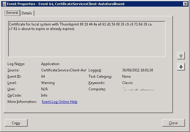 Renewing an SSL certificate on Exchange 2007 | oasysadmin