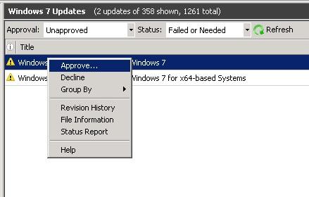 failure configuring windows updates reverting changes win7