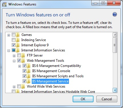Could not load the file or assembly Microsoft.Web.Administration